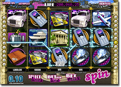 The Glam Life - BetSoft progressive jackpot pokies