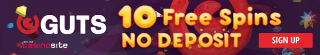 Guts online casino extra spins