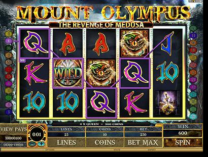 Mount Olympus: Revenge of Medusa pokies