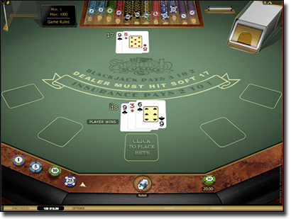 Microgaming Spanish 21 blackjack