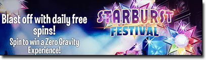 Starburst Festival competition at Leo Vegas Casino