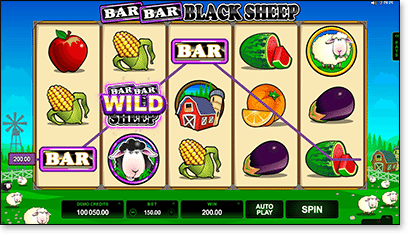 Bar Bar Black Sheep online pokies