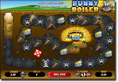 Bunny Boiler online scratch card