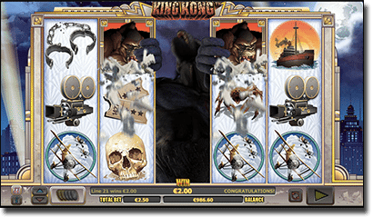 King Kong pokies - Goes Ape special feature