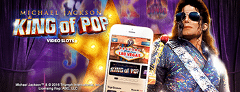 Michael Jackson: King of Pop pokies at LeoVegas.com