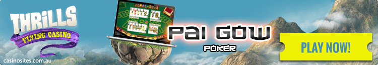 Thrills.com - Play Pai Gow Poker online for real money