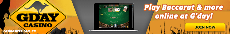 G'Day Casino - Top card games casino site