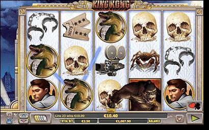 King Kong online pokies