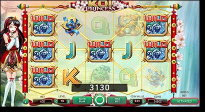 Koi Princess online anime pokies