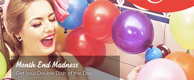 Double Dish of the Day AUD bonuses at 32Red.com