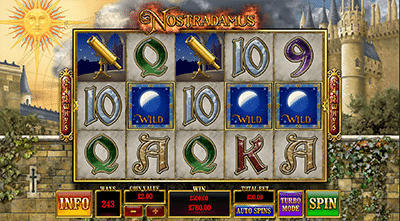 Nostradamus online pokies for real money