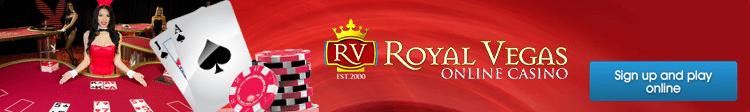 Playboy Bunny live dealer at RoyalVegasCasino.com