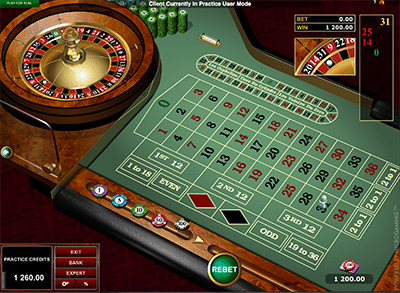 European Roulette by Microgaming