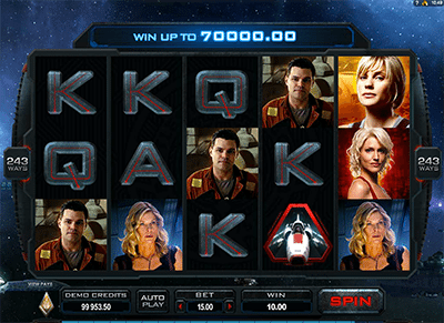 Battlestar Galactica pokies for real money