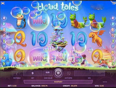 Cloud Tales pokies by iSoftBet