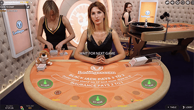 Leo Vegas Casino - New Celebrity Blackjack live dealer