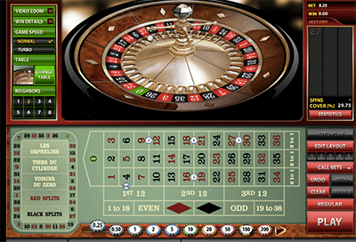 Premier Roulette Diamond Edition by Microgaming