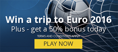 Win a trip to Euro 2016 in Paris with RoxyPalace.com