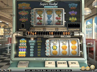 Super Nudge 6000 classic-themed online pokies by NetEnt