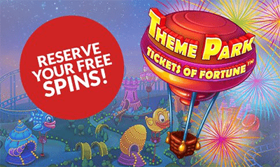 Theme Park: Tickets of Fortune free spins at Guts.com