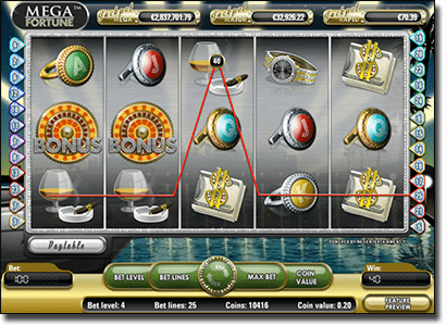 Mega Fortune online progressive jackpot by NetEnt