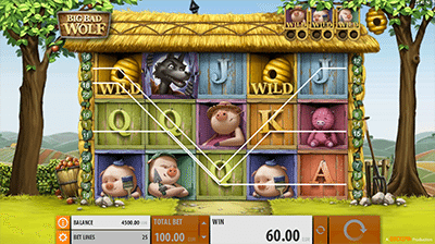 Big Bad Wolf online pokies by Quickspin