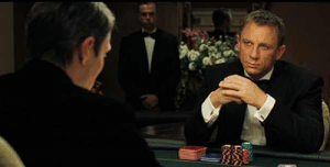 James Bond top six fictional poker players