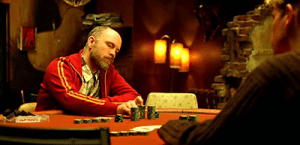 Teddy KGB from Rounders - top fictional poker player