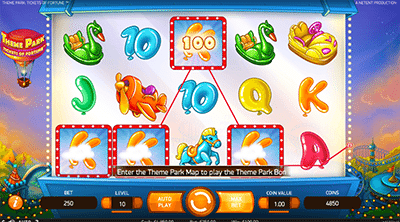 Theme Park: Tickets of Fortune by NetEnt