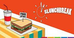 Slunchbreak free spins promotion