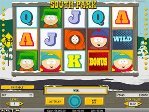 South Park pokies by NetEnt