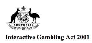 IGA - Interactive Gambling Act 2001
