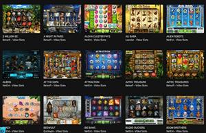Hello Casino games lobby