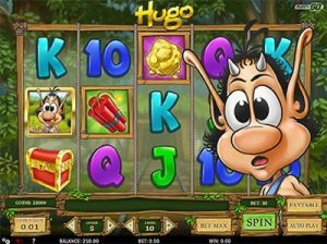 Hugo online pokies by Play'n Go