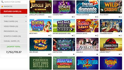 Red Flush online casino instant play games
