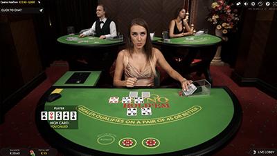 Evolution Live Dealer Casino Hold'em