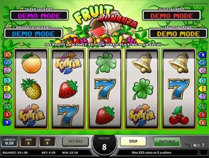 Fruit Bonanza progressive jackpot pokies by Play'n Go