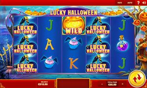 Lucky Halloween online pokies by Red Tiger Gaming