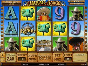 Jackpot Rango online progressive jackpot pokies