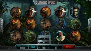 Jurassic Park film pokies