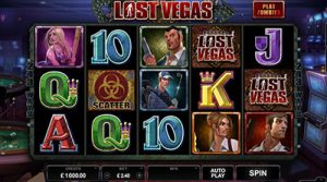 Lost Vegas pokies by Microgaming