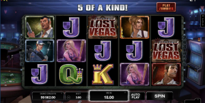 Lost Vegas zombie pokies by Microgaming