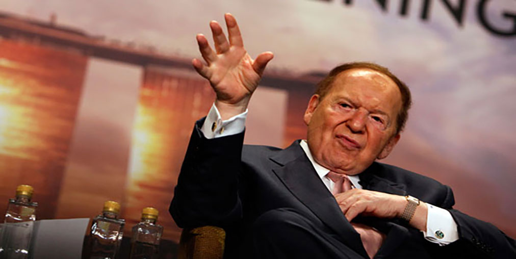 Sheldon Adelson - most influential casino personalities around the world
