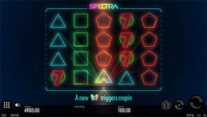 Spectra online video pokie