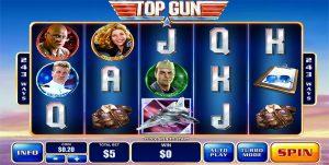 Top Gun online pokies based on film