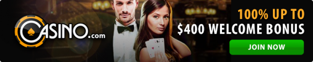 Casino.com welcome bonus for Australians