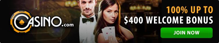 Casino.com welcome bonus for Australians
