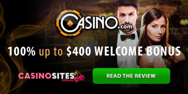 Casino.com welcome bonus sign up