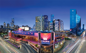 Crown Casino Melbourne poker hub