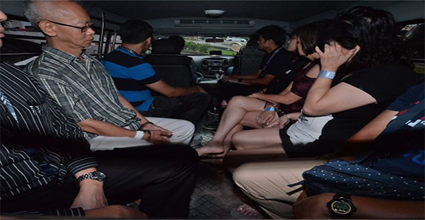 Gambling arrests Singapore